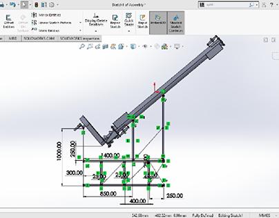 Screw Conveyor for Injection Molding Machines