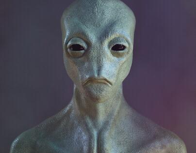 ALIEN - Character Sculpting