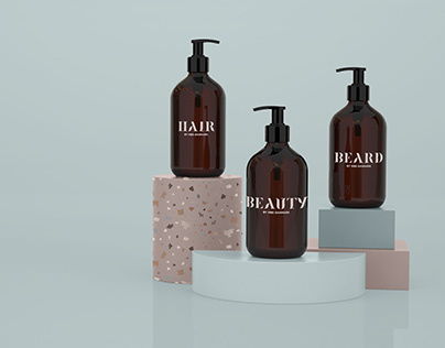 Visual identity – Hair by MBS
