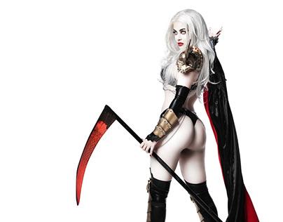 RAFA LADY DEATH cosplay