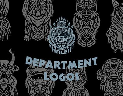 "DOC AY 17/18 ""CAMP HALEII"" — Department Logos"