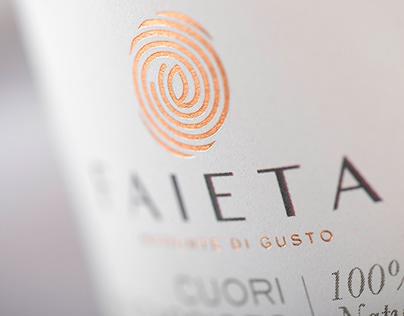 Faieta: impronte di gusto Faieta, Taste Marks.