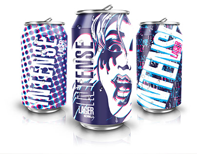 Chip Kidd-Inspired Craft Beer Cans