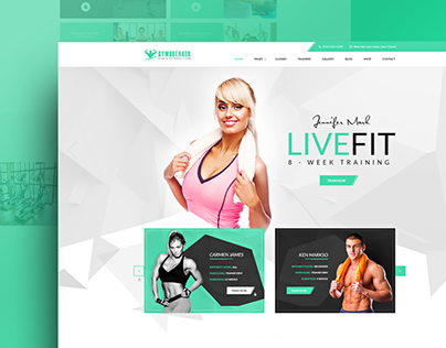 GymBreaker - Fitness & Gym Center