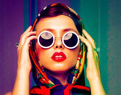 Retro Fashion Magazine Design