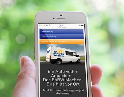 EnBW Macher-Bus – Web Development