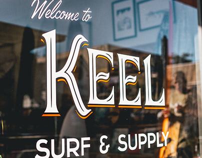 Keel Surf & Supply Brand Identity
