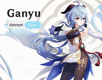 New Character Teaser - Ganyu   Genshin Impact (fanmade)