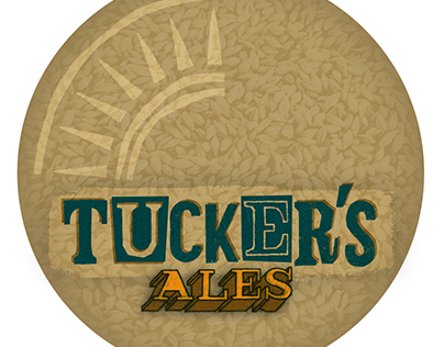 Tucker's Ales homebrew badge