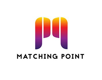 "LOGO DEVELOPMENT FOR CLIENT "" MATCHING POINT '"