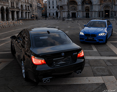BMW M5 E60 and BMW M5 F10
