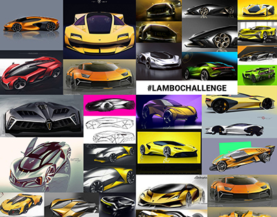 #LamboChallenge [gallery of works]