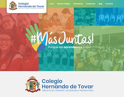 Diseño WEB Colegio Hernando de Tovar