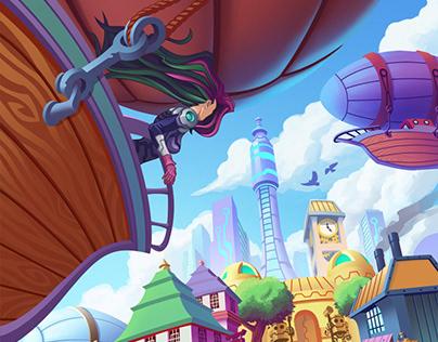 Skyward: The Airborne City