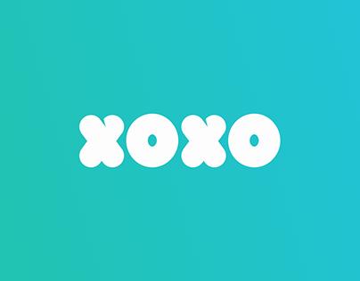 XOXO Logo & UI designs