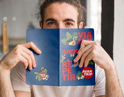 Notebook Avantrip / Merchandising