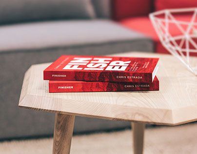 """Finisher"" Book Cover Design"