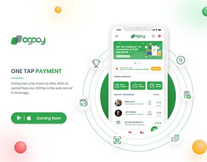 Online Payment App Design | OGPAY | UI/UX Design