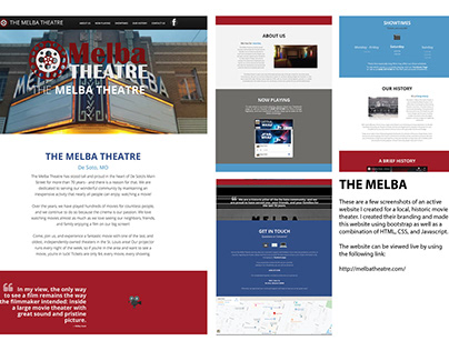 Melba Theatre Website