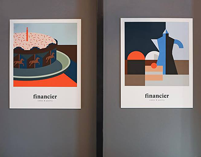 Financier cafe