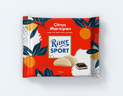 Ritter Sport Wrapping Design Concept