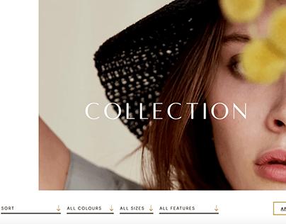 Seventy + Mochi website design
