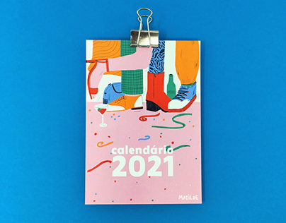 2021 Illustrated Calendar & Stopmotion