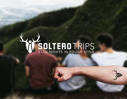 logo & web design for Soltero Trips