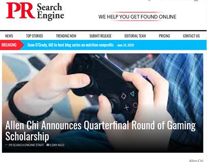 Allen Chi Gaming Scholarship Quarterfinal