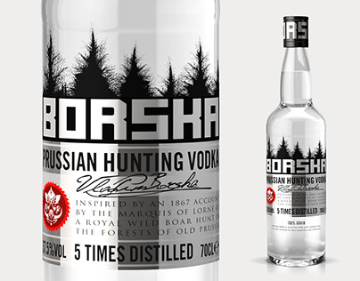 Borska Vodka - Branding and Packaging Design