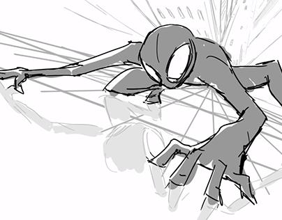 Spider-man Storyboard