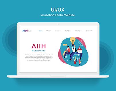 Incubation Center Website - UI/UX