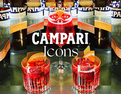 Campari Icons [We Are Social]