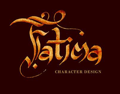 FATIMA   CHARACTER DESIGN