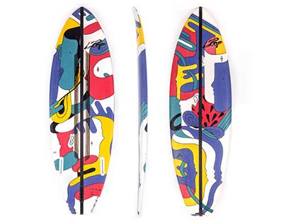 LOOP SURFBOARDS ART EDITION
