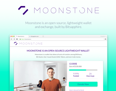 Moonstone.io Crowdfunding Campaign.