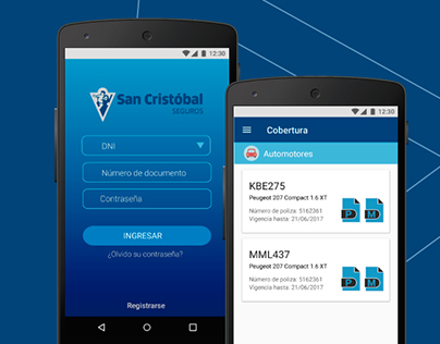 San Cristobal App - UI Design
