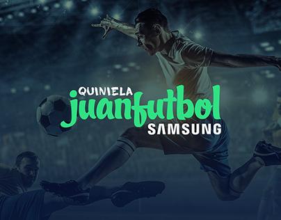 Quiniela Juanfutbol Samsung