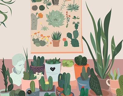 Illustration for Instagram Blog