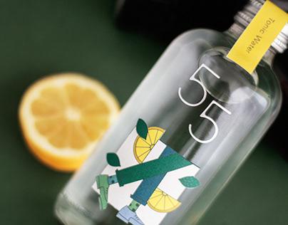 55 Tonic Water