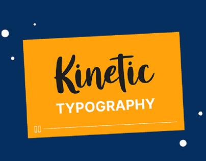 Typography Explainer videos