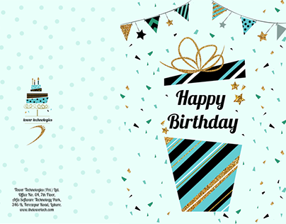 Birthday Card Design - Towertechnologies