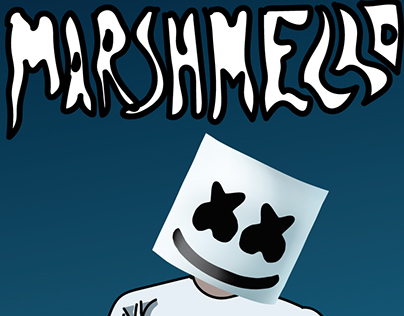 Draw and Realistic - Marshmello