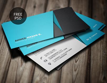 Creative Business Card Template | Freebie