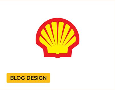 Shell Blog Proposal + Wireframe + IA
