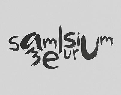 Sammelsurium – Typeface