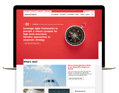 SOPRA STERIA GLOBAL WEBSITE