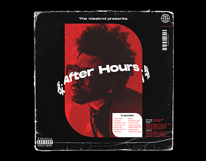 Album Cover Art Concept for The Weeknd | After Hours