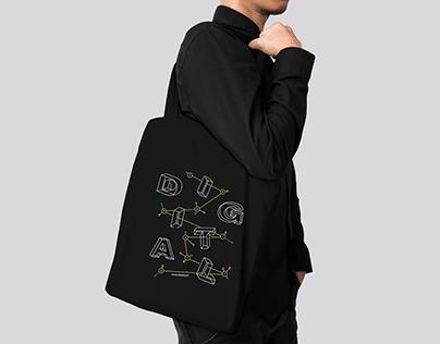 Digital Chemistry – Tote bag