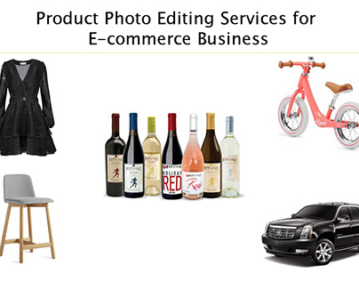 Product Photo Editing Services for E-commerce Business